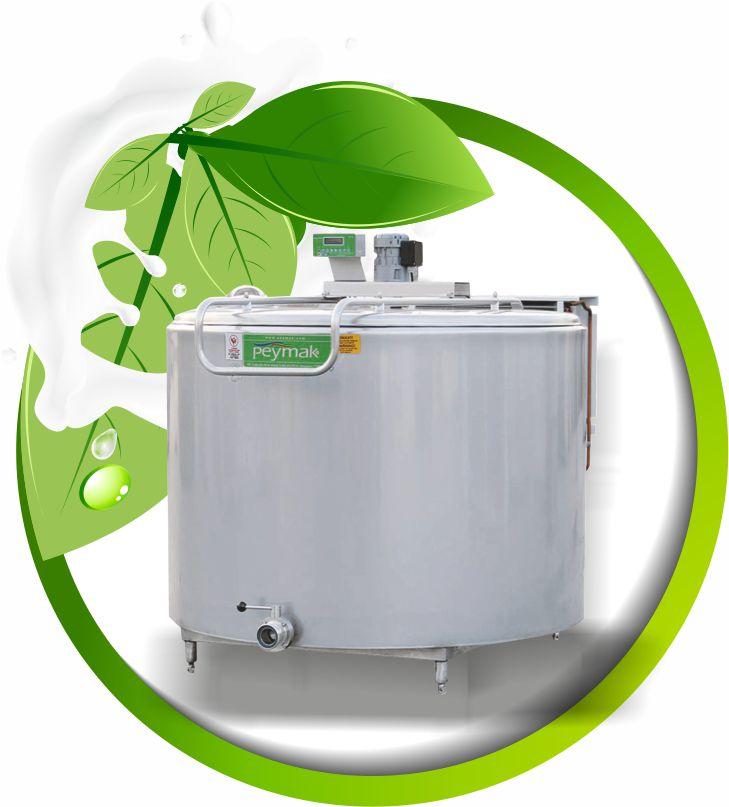 PHS Dikey Standart Süt Soğutma Tankı